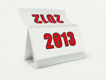 Calendario 2013 Fotografía de archivo libre de regalías