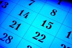 Calendario Fotos de archivo libres de regalías