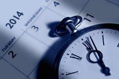 calendario 2014 Fotografia Stock Libera da Diritti