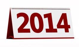 calendario 2014 Fotografía de archivo libre de regalías