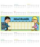 Calendario 2015 Immagini Stock