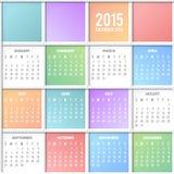 calendario Fotografie Stock