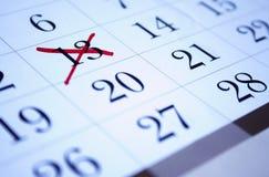 Calendario Imágenes de archivo libres de regalías