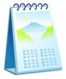 Calendario illustrazione di stock