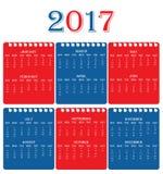 Calendario ilustración del vector