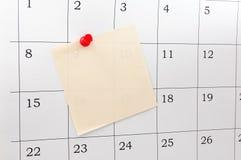 Calendario immagine stock libera da diritti