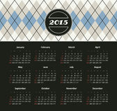 Calendario 2015 anni Immagini Stock