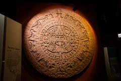 Calendario azteca Fotografía de archivo libre de regalías