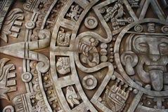 Calendario azteco Fotografia Stock Libera da Diritti