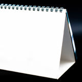Calendario in bianco fotografie stock