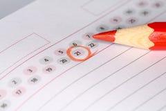 Calendario con la matita immagini stock