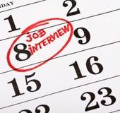 entrevista de trabajo imagen de archivo
