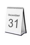 Calendario da tavolino Immagine Stock Libera da Diritti