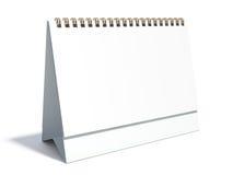 Calendario da tavolino in bianco Immagini Stock Libere da Diritti
