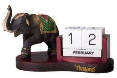 Calendario dalla Tailandia fotografia stock