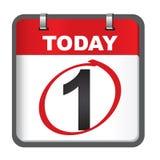 Calendario de enero Imagen de archivo libre de regalías