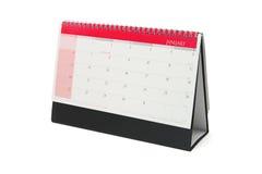 Calendario de escritorio imágenes de archivo libres de regalías