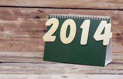 Calendario de escritorio Fotografía de archivo libre de regalías