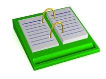 Calendario de escritorio. Imágenes de archivo libres de regalías