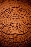 Calendario de indios norteamericanos foto de archivo