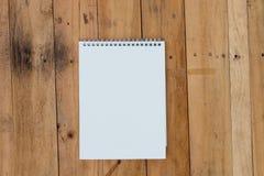 Calendario de pared en blanco Fotografía de archivo libre de regalías