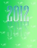 Calendario decorativo 2012 fotografía de archivo