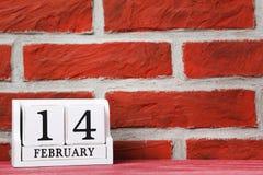 Calendario del cubo Imagen de archivo