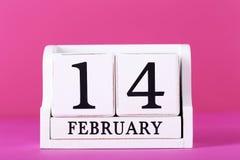 Calendario del cubo Fotografia Stock