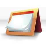 Calendario del diseño Imagen de archivo