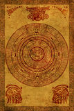 Calendario del Maya Fotografia Stock Libera da Diritti