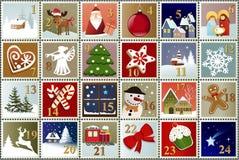 Calendario del sello del advenimiento Fotografía de archivo libre de regalías