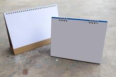 Calendario del vector en blanco Fotos de archivo libres de regalías