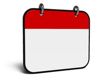 Calendario dell'icona isometry Immagini Stock Libere da Diritti