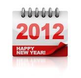 Calendario dell'nuovo anno Fotografia Stock Libera da Diritti
