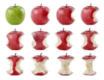 Calendario delle mele rosse Royalty Free Stock Photo