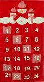 Calendario di arrivo Fotografie Stock