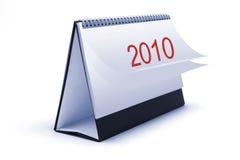 Calendario di scrittorio fotografie stock