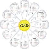 Calendario di vettore Immagini Stock