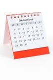 Calendario dicembre Immagine Stock Libera da Diritti