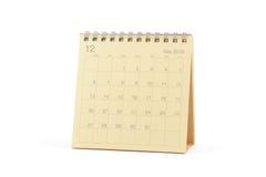 Calendario - diciembre de 2010 Imagenes de archivo