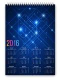 Calendario futuro Imagen de archivo libre de regalías