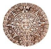 Calendario maya imágenes de archivo libres de regalías