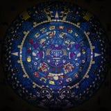 Calendario maya Fotos de archivo