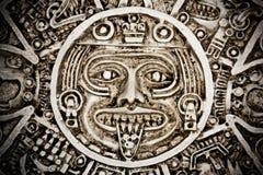 Calendario Mayan Fotografia Stock Libera da Diritti