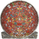 Calendario Mayan fotografia stock