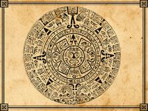 Calendario Mayan Immagine Stock Libera da Diritti