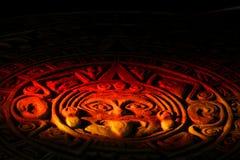 Calendario Mayan. Fotografia Stock