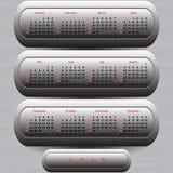 Calendario moderno 2015 Immagine Stock Libera da Diritti