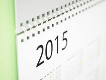 Calendario murale 2015 Immagine Stock