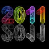 Calendario per 2011 Immagini Stock Libere da Diritti
